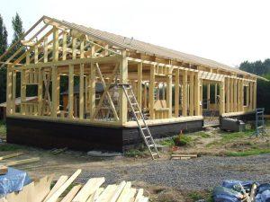 les étapes de construction d'une toiture